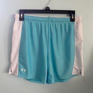 Sky Blue Under Armor Basketball shorts